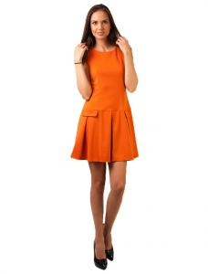 "Rochie Casual ""Today Is Your Day"" Orange"
