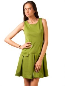 "Rochie Casual ""Today Is Your Day"" Light Green"