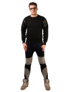 "Pantaloni Trening ""Right Away"" Navy&Grey"