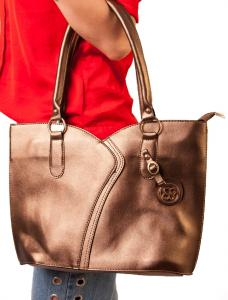 "Geanta ""Bag Babe"" Bronze"