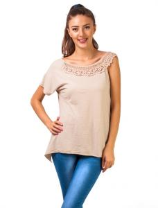 "Bluza ""In Love With Lace"" Beige"