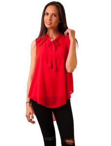 "Bluza Voal ""Doing My Way"" Red"