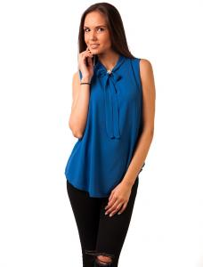 "Bluza Voal ""Doing My Way"" Blue"
