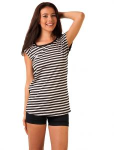 "Tricou In Dungi ""Stripes Revolution"" Black&White"