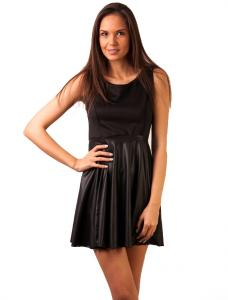 "Rochie Casual ""In The Summertime"" Black"