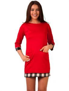 "Rochie De Primavara ""Parisian Style"" Red"
