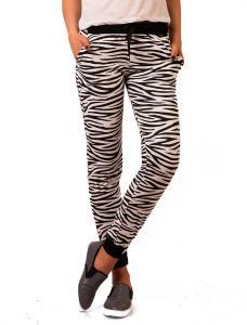"""Pantaloni Sport """"Zebra Case Day"""" B&W"""