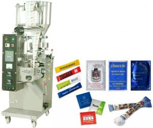 Masina de ambalat pliculete de zahar tip stix la pret de producator