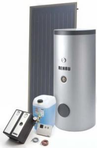 Panouri solare rehau wk 3 cu boiler 400l  223999-100