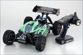 Automodel Kyosho Buggy Inferno NEO 2.0 GP 1/8 2.4Ghz, culoare verde