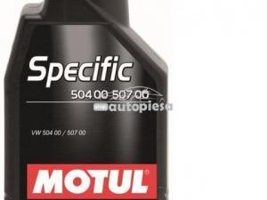 Ulei motor MOTUL SPECIFIC 504.00 507.00 5W30 1L