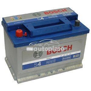 Acumulator baterie auto BOSCH S4 74 Ah 680A cu borne inverse
