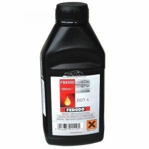 Lichid de frana DOT 4 Ferodo 0.5L