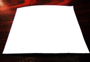 Folie auto cu efect de sclipici alb 1m x 1.5m cristallux