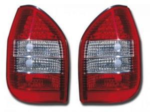 Stopuri LED Opel Zafira tip A Bj. 97-04 rosu/negru fk - SLO44018
