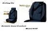 Set huse scaune auto albastru -