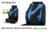 Set huse scaune auto negru -