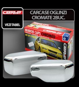 Carcase oglinzi cromate PEUGEOT 206 98>, 2 buc - COCP202