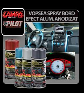Vopsea spray bord efect aluminiu anodizat 150 ml - VSBA583