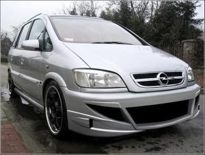 Bara fata tuning Opel Zafira Spoiler Fata M-Style - motorVIP - A04-OPZAA_FBM