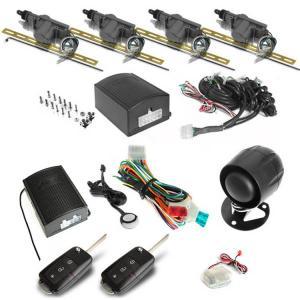 Alarma auto + Inchidere centralizata marca KeeTeck , cu telecomanda cu lamela tip briceag - AAIC3560
