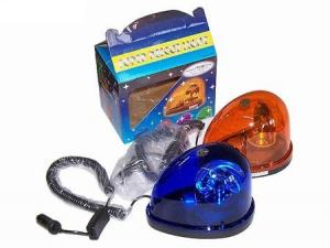 Girofar lacrima albastru 12v - 24v sau portocaliu Promo - GIR344