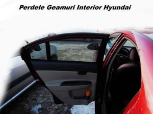 Perdele geamuri auto interior Hyundai Accent 2006- hatchback