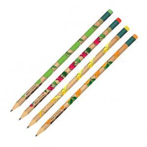 Creion Grafit cu guma HB Fruits Adel