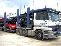 TRANSPORT AUTOTURISME PE PLATFORMA