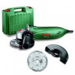 Polizor Bosch PWS 750-125 +disc taiere dia, geanta plastic