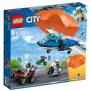 LEGO City Arest cu Parasutisti ai Politiei Aeriene 60208