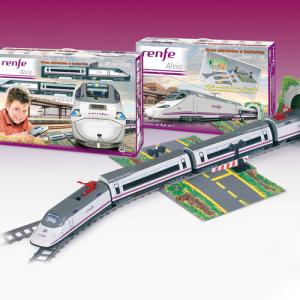 Trenulet Electric Renfe Alvia S-130