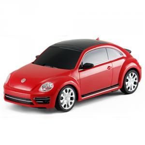 Masinuta cu Telecomanda Volkswagen Beetle Rosu, Scara 1:24
