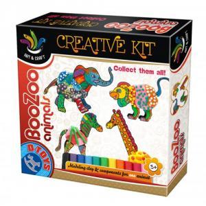 Set Creatie cu Plastilina BooZoo Animals Elefant
