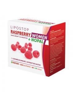 Lipostop Raspberry Women *60 cps + Nopal *30 cps