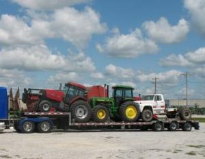 Transport intern utilaje agricole