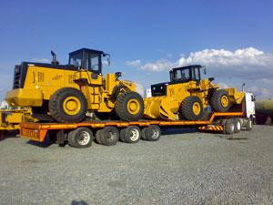 Trailer transport Germania
