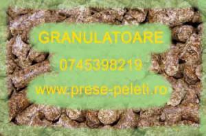 Presa granulare furaje pentru animale, pasari, pesti