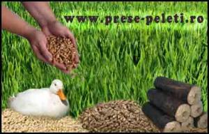 Presa pentru granularea cerealelor