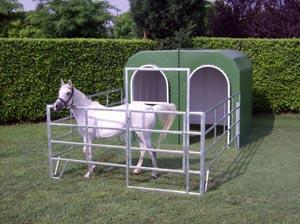 Adapost pentru cai din fibra de sticla