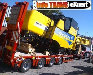 Transport utilaj Belgia Olanda