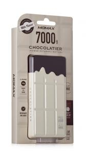 Momax Acumulator Extern iPower Chocolatier, 7000 mAh, Alb