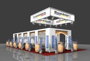 Proiectare stand expozitional