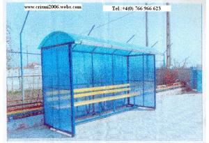Statii de autobuze policarbonat