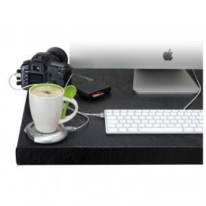 USB HUB 4 PORTURI SI INCALZITOR  PENTRU CAFEA