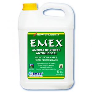 Amorsa Antimucegai de Perete EMEX -  4 litri