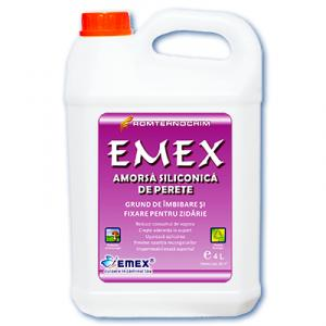 Amorsa Siliconica de Perete EMEX -  4 litri
