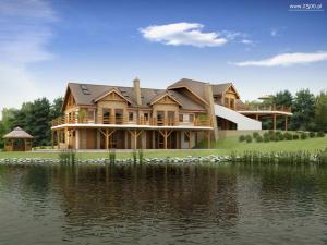 Case pe lemn