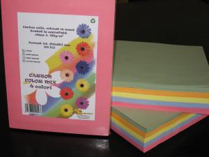 Carton colorat in masa
