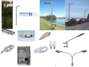 Stalpi metalici pentru retele electrice